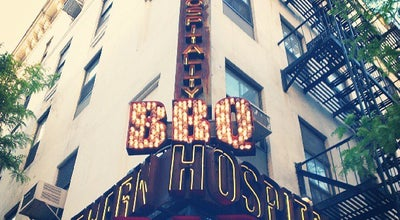 Photo of BBQ Joint Southern Hospitality at 645 9th Avenue, New York, NY 10036, United States