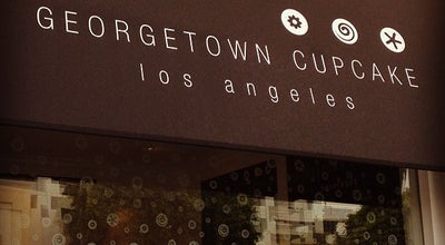 Photo of Cupcake Shop Georgetown Cupcake at 143 S Robertson Blvd, Los Angeles, CA 90048, United States