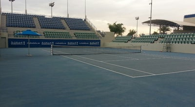 Photo of Tennis Court Zayed Sports City Tennis Stadium at United Arab Emirates