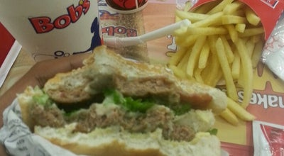 Photo of Fast Food Restaurant Bob's at Av. Soares Lopes, S/n, Ilhéus 45662-005, Brazil