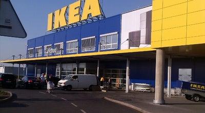 Photo of Furniture / Home Store IKEA at Skandinávská 131/1, Praha 155 00, Czech Republic