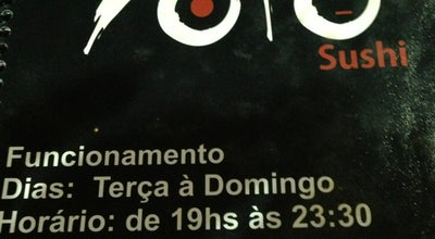 Photo of Japanese Restaurant Yoto Sushi at Av. Presidente Kennedy, 40, Castanhal 68743-110, Brazil