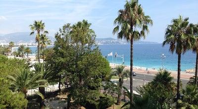Photo of Beach Plage Sainte-Hélène at Promenade Des Anglais, Nice 06200, France