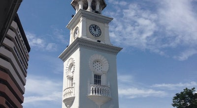 Photo of Monument / Landmark Queen Victoria Memorial Clock Tower at Lebuh Light, George Town 10200, Malaysia