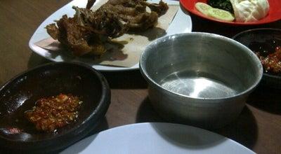 Photo of Indonesian Restaurant Bebek Goreng H. Slamet (Special Sambel Korek) at Jalan Karimata, Jember, Indonesia
