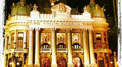 Photo of Theater Theatro Municipal do Rio de Janeiro at Pç. Mal. Floriano, S/n, Rio de Janeiro 20031-050, Brazil