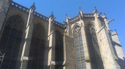 Photo of Church Basilique Saint-Nazaire at Place Saint-nazaire, Carcassonne 11000, France
