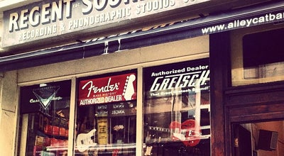 Photo of Music Store Regent Sounds Studio at 4 Denmark St, London WC2H 8LP, United Kingdom