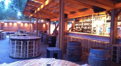 Photo of Wine Bar Fabrica De Vino in the sand at Greece