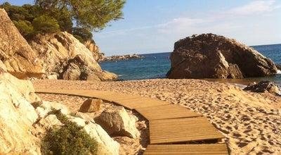 Photo of Beach Cala Canyelles at Avinguda De Canyelles, Lloret de Mar 17310, Spain