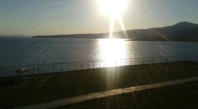 Photo of Lake Kuscu Baraji at Erkilet, Kayseri, Turkey