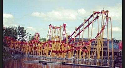 Photo of Theme Park La Ronde at 22 Chemin Macdonald, Montreal, QC H3C 6A3, Canada