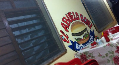 Photo of Burger Joint Hamburguesas El Abuelo Boni at 50 Av, San Miguel, Mexico