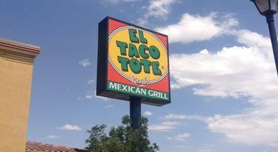 Photo of Mexican Restaurant El Taco Tote at 1000 Magruder St, El Paso, TX 79925, United States