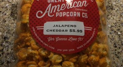 Photo of Dessert Shop Great American Popcorn at 1121 3rd St Se, Cedar Rapids, IA 52401, United States