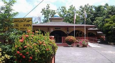 Photo of Mosque Masjid Al-Amin at Sempering, Kangar 01000, Malaysia