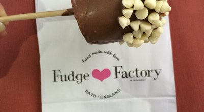 Photo of Dessert Shop The San francisco Fudge Factory at 6 Church St., Bath BA1 1NL, United Kingdom