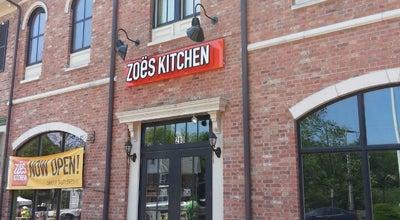 Photo of Mediterranean Restaurant Zoës Kitchen at 280 N Sycamore St, Newtown, PA 18940, United States
