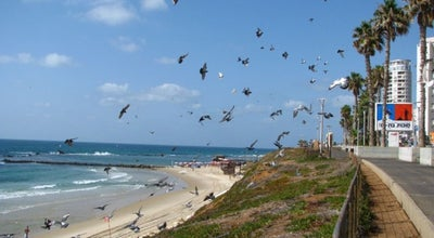 Photo of Beach Bat Yam Promenade / טיילת בת-ים at Ben Gurion Rd., Bat Yam, Israel