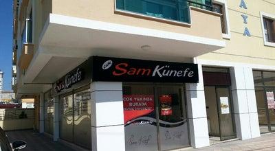 Photo of Dessert Shop Cafe Sam Künefe at Alipaşa Mahallesi Yükselen Caddesi 31/a, Çorlu 59850, Turkey