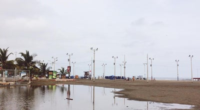 Photo of Beach Playa murcielago at Manta, Ecuador
