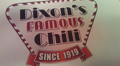 Photo of American Restaurant Dixon's Chili at 9105 E Us Highway 40, Independence, MO 64055, United States
