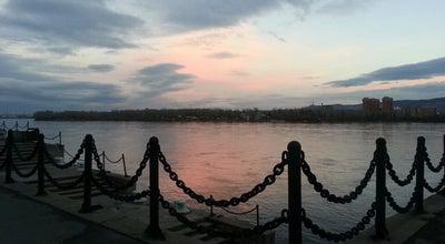Photo of River Енисей at Красноярск, Russia