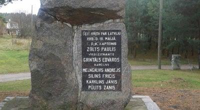 Photo of Historic Site Kapteiņa Paula Zolta pimineklis at Latvia