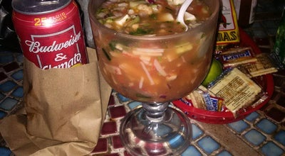 Photo of Mexican Restaurant Mariscos Manzanillo at 8008 Santa Fe Ave, Huntington Park, CA 90255, United States