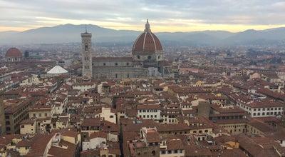 Photo of Tourist Attraction The Tower of Palazzo Vecchio at Piazza Della Signoria, Florence, Italy