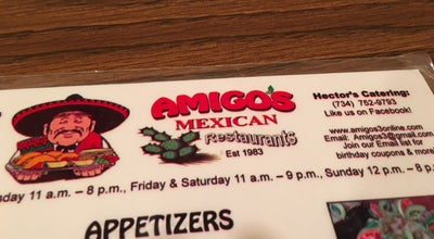 Photo of Mexican Restaurant Amigo's Mexican Restaurant at 22085 West Rd, Woodhaven, MI 48183, United States