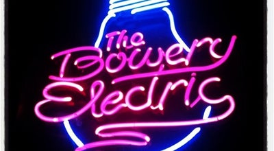 Photo of Music Venue Bowery Electric at 327 Bowery, New York, NY 10003, United States