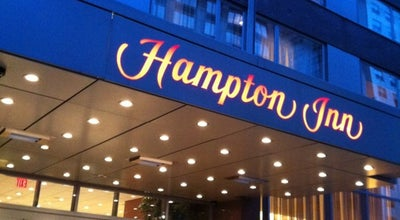Photo of Hotel Hampton Inn at 851 8th Ave, New York, NY 10019, United States