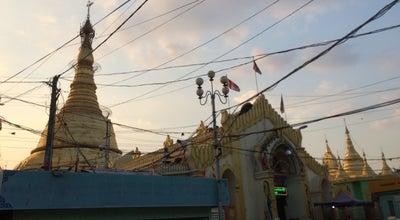 Photo of Buddhist Temple Botahtaung Pagoda at Strand Road, Yangon, Myanmar