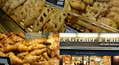 Photo of Bakery Le Grenier à Pain at 38 Rue Des Abbesses, Paris 75018, France