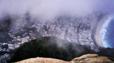 Photo of Mountain Morro Dois Irmãos at Rio de Janeiro, Brazil