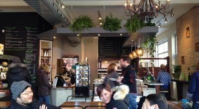 Photo of Vegetarian / Vegan Restaurant La Panthère Verte at 145, Avenue Du Mont-royal Est, Montréal, QC H2T 1N9, Canada