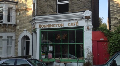 Photo of Vegetarian / Vegan Restaurant Bonnington Cafe at 11 Vauxhall Grove, London SW8 1TD, United Kingdom