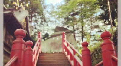 Photo of Monument / Landmark 烏帽子岩 at 内丸1-42, 盛岡市, Japan