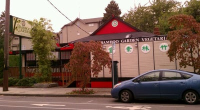 Photo of Vegetarian / Vegan Restaurant Bamboo Garden at 364 Roy St, Seattle, WA 98109, United States