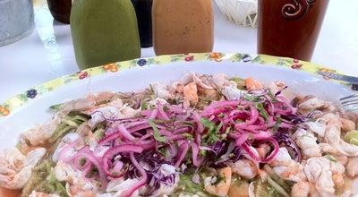 Photo of Seafood Restaurant Los Aguachiles at Av. Tulum 1, Centro, Tulum 77760, Mexico