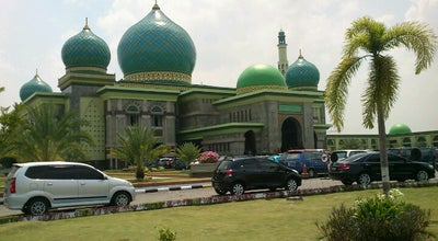Photo of Mosque Masjid Agung An-Nur at Jl. Hang Tuah, Pekanbaru, Indonesia