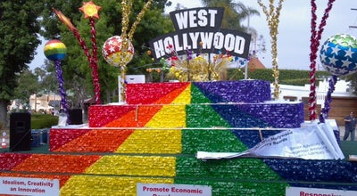 Photo of Plaza West Hollywood Rainbow Strip at West Hollywood, CA 90069, United States