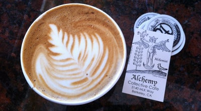 Photo of Cafe Alchemy Collective Cafe at 1741 Alcatraz Ave, Berkeley, CA 94703, United States