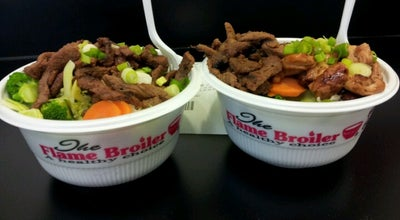 Photo of Asian Restaurant Flame Broiler at 9822 Tapestry Park Cir, Jacksonville, FL 32246, United States