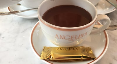 Photo of Tea Room Angelina at Musée Du Luxembourg, Paris 75006, France