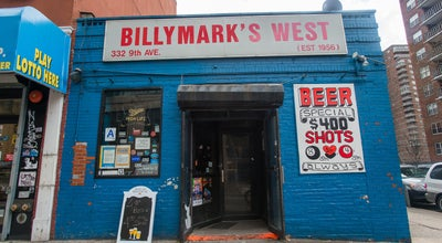Photo of Dive Bar Billymark's West at 332 9th Ave, New York, NY 10001, United States