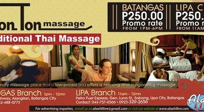 Photo of Spa TonTon Traditional Thai Massage at Brgy. Sabang, Lipa City 4217, Philippines