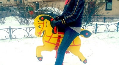 Photo of Playground Детская площадка с осьминогом at Russia