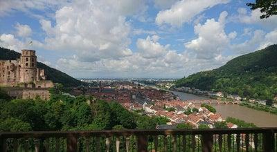 Photo of Park Schloßgarten at Heidelberg, Germany
